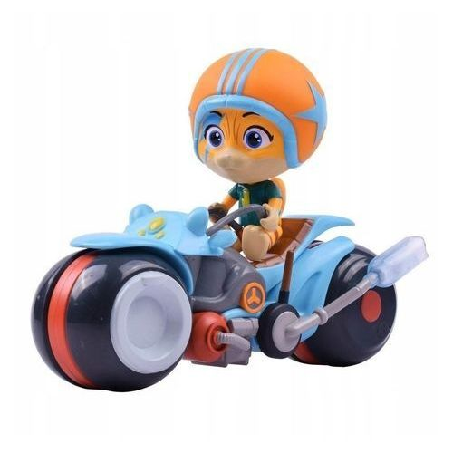 Figurki i postacie, Smoby 44 Koty Figurka Lampo na motocyklu
