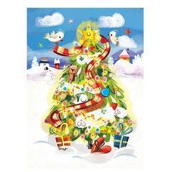 Kartka Boże Narodzenie. Choinka. B6 - Henry OD 24,99zł DARMOWA DOSTAWA KIOSK RUCHU