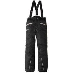 Spodnie od kombinezonu bonprix czarny