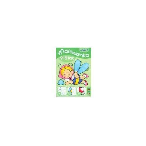 Książki dla dzieci, Malowanka 3-5 lat część 1 (opr. broszurowa)
