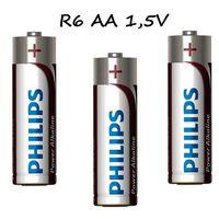 Baterie, Bateria alkaliczna philips power AA 1,5V 1szt