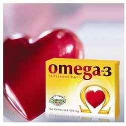 Omega 3 500mg - Olej z łososia 120 kaps.