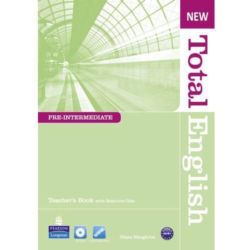 Książki do nauki języka, New Total English Pre-Intermediate, Teacher's Book (książka nauczyciela) (opr. miękka)