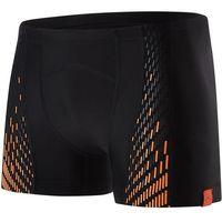 Pozostałe pływanie, Speedo kostium kąpielowy męski Fit Powermesh Pro Aquashort Black/Orange 38 - BEZPŁATNY ODBIÓR: WROCŁAW!