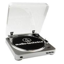 AUDIO-TECHNICA AT-LP60 USB srebrny
