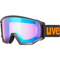 Okularki pływackie, UVEX Athletic CV Gogle, black mat/colorvision blue energy 2019 Gogle narciarskie
