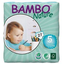 - BAMBO NATURE - Pieluchy Jednorazowe - Ekologiczne - Zdrowe 5 Junior 12-22kg