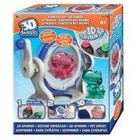 Kreatywne dla dzieci, 3D Magic - Fabryka 3D - Spinner Kreuj w 3D - Epee