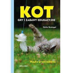 Kot Gry i zabawy edukacyjne - Heike Grotegut (opr. miękka)