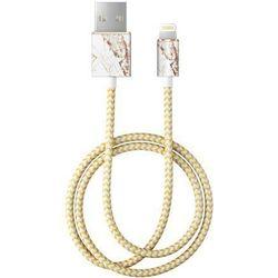 iDeal Of Sweden - kabel lightning 1 m (Carrara Gold)