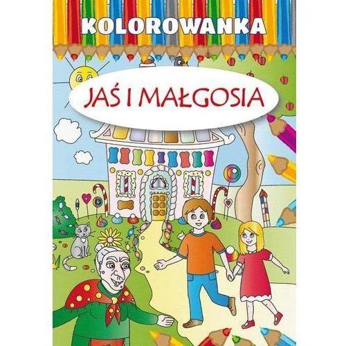 Kolorowanki, Kolorowanka - Jaś i Małgosia w.2015 LITERAT - Praca zbiorowa
