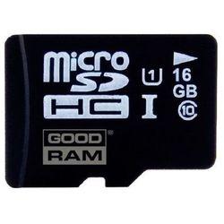 Karta pamięci GOODRAM microSD 16GB Klasa 10 + Zamów z DOSTAWĄ JUTRO!