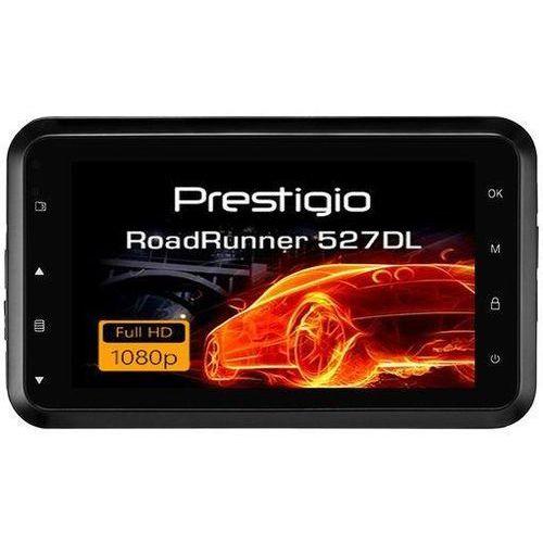 Rejestratory samochodowe, Prestigio RoadRunner 527DL