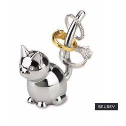 SELSEY Stojak na biżuterię Zoola Kot