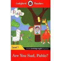 Książki do nauki języka, Ladybird Readers Level 1 Pablo Are You Sad Pablo? - książka (opr. miękka)