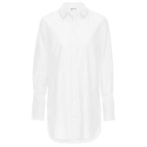 Bluzki, Długa bluzka bonprix biały