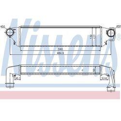Chłodnica powietrza doładowującego - intercooler NISSENS 96741