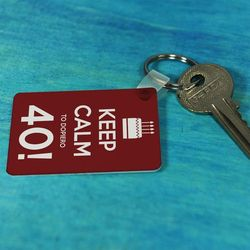 40 Urodziny - brelok do kluczy - Brelok do kluczy