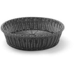 Koszyk do pieczywa czarny okrągły śr. 40 cm