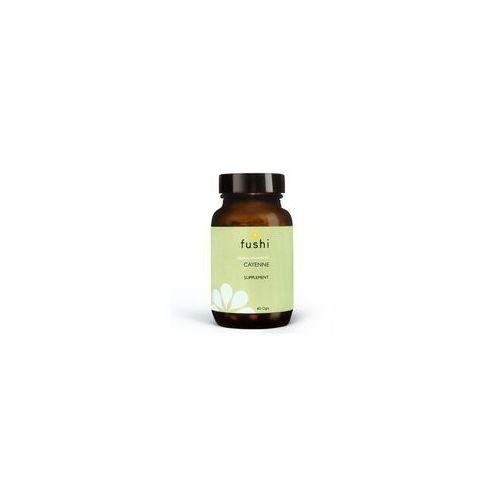 Pozostałe ziołolecznictwo, BIO Pieprz Cayenne - Owoc Pieprzu 460 mg (60 kaps.) Fushi