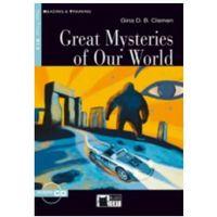 Książki do nauki języka, Great Mysteries of Our World + CD - Clemen Gina D.B.