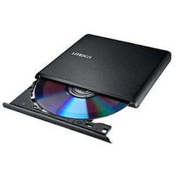 Lite-On nagrywarka zewnętrzna DVD ES1, USB, Ultra-slim 13.5mm, czarna, retail