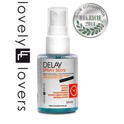 Spray DELAY Opóźniający Wytrysk 50ml | 100% DYSKRECJI | BEZPIECZNE ZAKUPY