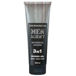 Dermacol Men Agent Intensive Charm 3in1 żel pod prysznic 250 ml dla mężczyzn