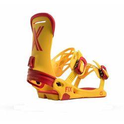 Wiązania snowboardowe Fix Magnum (yellow) 2019