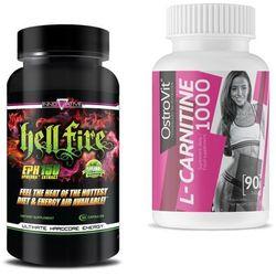Spalacz tłuszczu INNOVATION LABS Hellfire EPH 150 100kaps Ostrovit l-carnitine gratis Najlepszy produkt Najlepszy produkt tylko u nas!