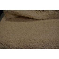 Chodnik bawełniany, ręcznie tkany, ecru 80x200