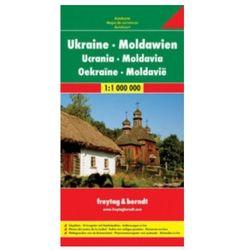 Ukraina Mołdawia Mapa Drogowa 1:1 000 000