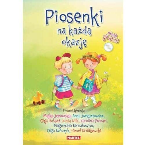 Bajki i piosenki, Piosenki Na Każdą Okazję + CD (GWIAZDY ŚPIEWAJĄ)