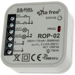 Radiowy odbiornik 2-kanałowy ROP-02 Exta Free ZAMEL