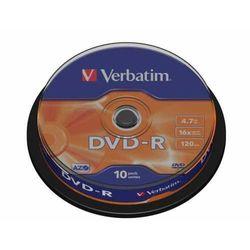 DVD-R Verbatim x16 4.7GB Matt Silver (Cake 10)