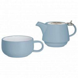 Maxwell & williams - tint - zestaw tea for one, niebieski
