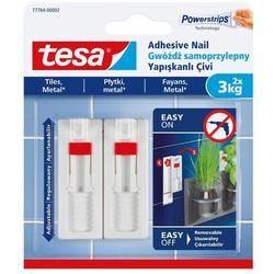 Gwoździe samoprzylepne Tesa regulowane do płytek udźwig 3 kg 2 szt.