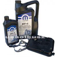 Oleje przekładniowe, Filtr olej MOPAR ATF+4 skrzyni biegów 42RLE Jeep Wrangler 2003-