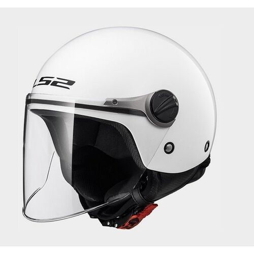 Kaski motocyklowe, KASK LS2 OF575J WUBY JUNIOR WHITE
