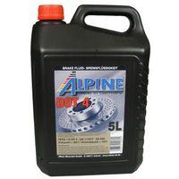 Płyny hamulcowe, Alpine Brake Fluids płyn hamulcowy DOT4 5 Litr Pojemnik