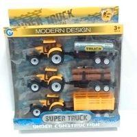 Traktory dla dzieci, Traktor +akcesoria 25cm