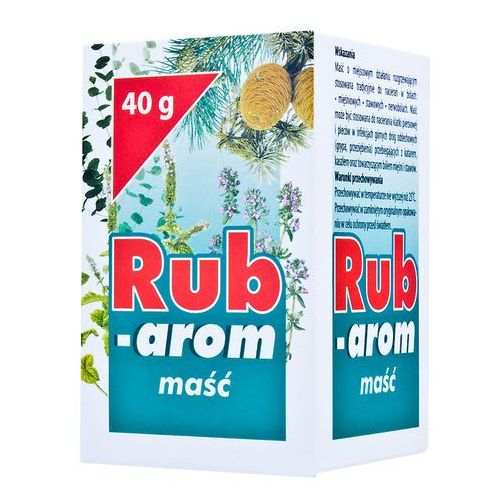 Leki na przeziębienie i grypę, Rub-arom masc x 40g