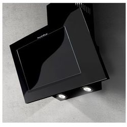 Okap naścienny Nano Czarny 60 cm, 428 m3/h
