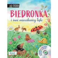 Książki dla dzieci, Biedronka i inni mieszkańcy łąki. Książka z płytą CD (opr. twarda)