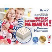 Materace, MATERAC LATEKSOWY HEVEA JUNIOR MAX 200x80 + PODUSZKA 45X45 GRATIS!