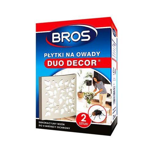 Środki i akcesoria przeciwko owadom, BROS 2szt Duo Decor Płytki na owady