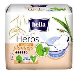 BELLA Herbs Plantago sensitive podpaski x 12 sztuk