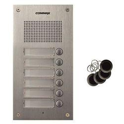 Stacja bramowa szcześcoabonentowa z czytnikiem RFID Commax DR-6UM/RFID