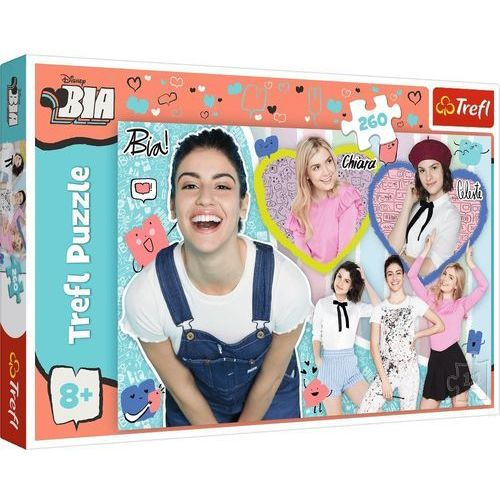 Puzzle, Puzzle 260 elementów BIA - Bia, Chiara i Celeste