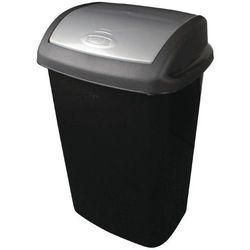 Kosz na śmieci czarny | różna pojemność
